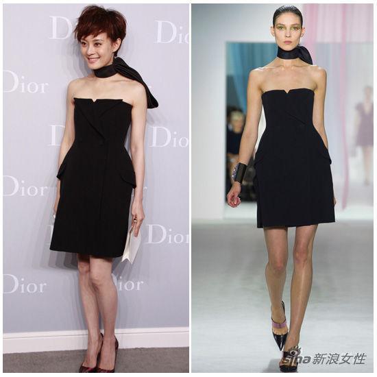 孙俪in Dior