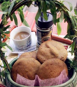 咖啡麦饼。图片来源:贝太厨房