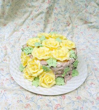 巧克力芝士玫瑰蛋糕。图片来源:贝太厨房