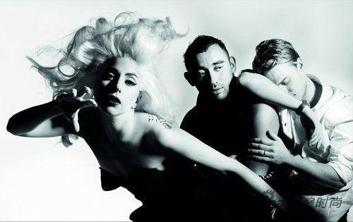 Lady Gaga和她的御用造型师Nicola Formichetti