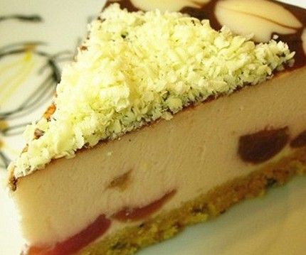 樱桃奶酪蛋糕