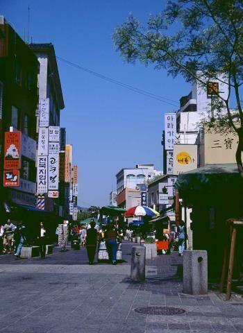 首尔游第一街——明洞
