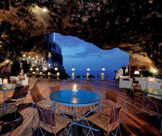 全球九大奇妙洞穴餐厅