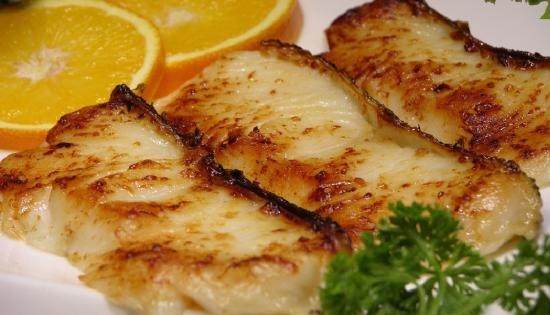 酸甜烤鳕鱼