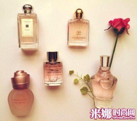 风情万种的玫瑰香水