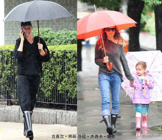 雨天防水又配伞的唯一单品