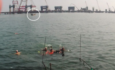 深海男子被救回