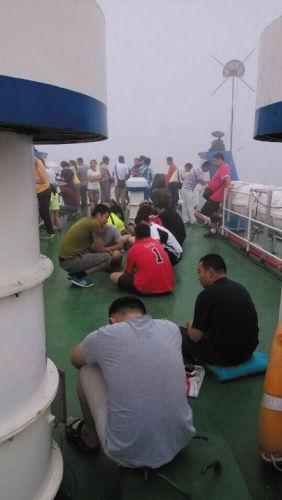 网绳缠住客船螺旋桨269人被困海上5小时