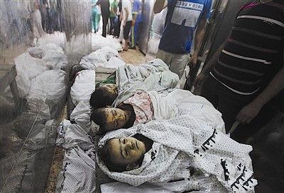加沙冲突白热化百名人丧生