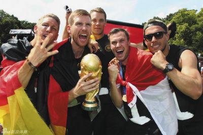 """""""大力神杯""""被德国队玩坏了"""