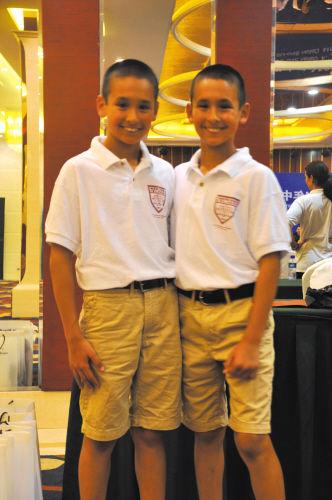 青少年足球联赛开赛 美国足球少年到访大连