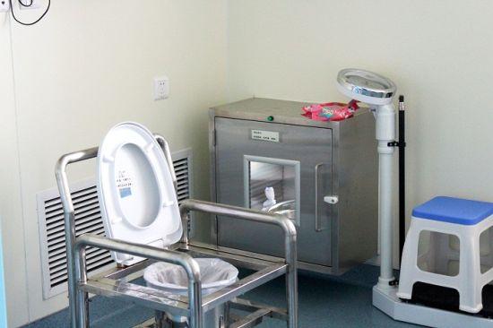 移植病房内的相关设施,实时的体重检测为治疗效果起到了参考作用。