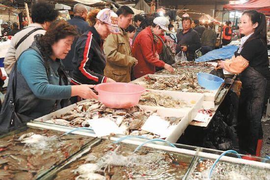 大连螃蟹价格迎来近年来最低点