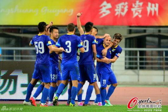 最后5分钟两球 阿尔滨客场2-0大胜人和