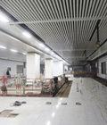地铁2号线室内装修11月结束