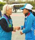 78岁志愿者服务13年