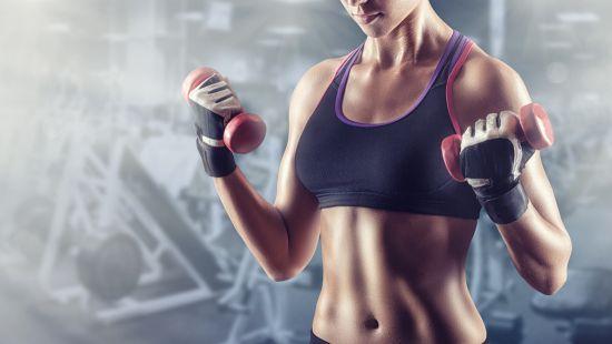女人练肌肉有三个误区